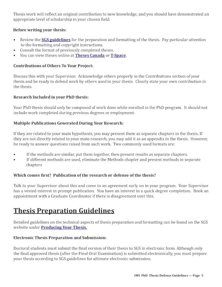 Thesis proposal defense guidelines thesis topics on business management